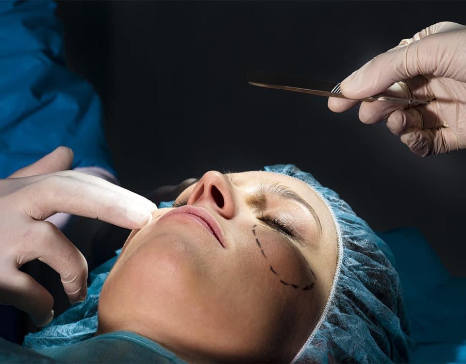 Gesichtsimplantat Wange