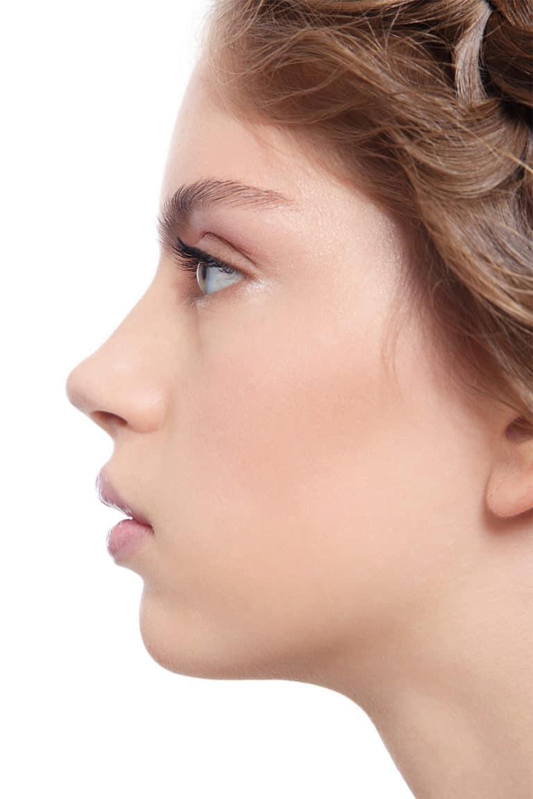 Nasenspitze